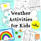 Weather Activities for Kids: Seasons, Temperature, and 2 W