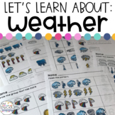 Weather Activities for Special Education