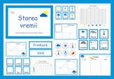 Weather Activities in Romanian, Starea vremii fise in limba romana
