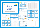 Weather Activities in Romanian, Starea vremii fise in limb