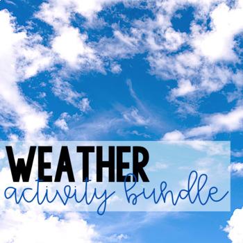 Weather Activity Bundle