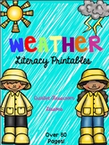 Weather Unit {Integrated Literacy Activities and Printables}