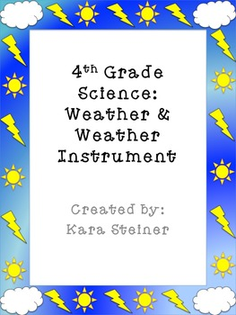 Weather Instruments Assessments