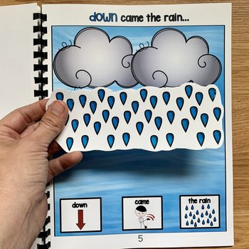 "Weather Adapted Book And Activities:  ""It Was A Very Cloudy Day"""