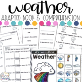 Weather Adapted Book & Comprehension for Special Education