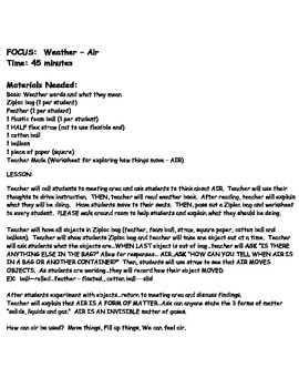 Weather - Air