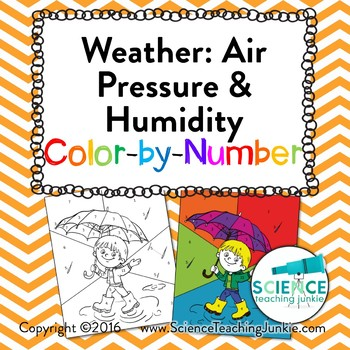 Weather: Air Pressure and Humidity Color-by-Number