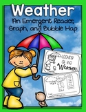 Weather {An Emergent Reader, Interactive Bubble Map, and Graph}