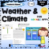 Weather And Climate Learning Activities for Google Apps