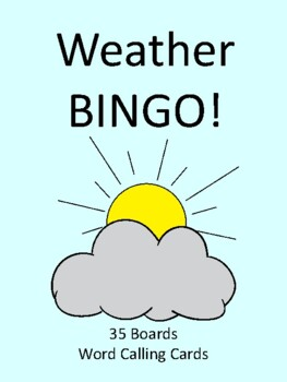Weather BINGO!