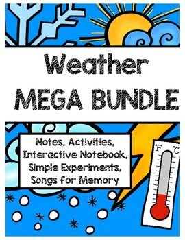 Weather Ultimate Notebook (Labs, Interactive Notebook Pages, Notes, Songs)