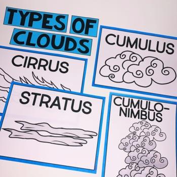 Weather Bag Book | Interactive Notebook | Weather Activity