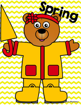 Weather Bear Clipart