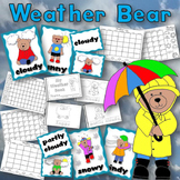 Weather Bear Set for Science and Calendar Time
