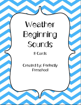Weather Beginning Sounds {FREEBIE}