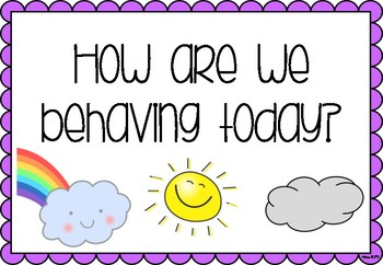 Weather Behaviour Chart