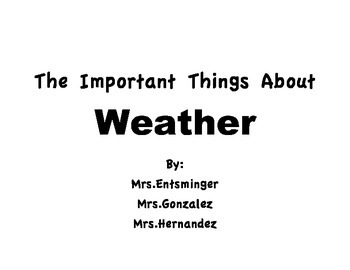 Weather Big Book