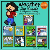 Weather Big Bundle  Nonfiction Reading Comprehension