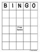 Weather Bingo Activity