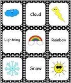 Weather Bingo Memory Match Domino Game Set