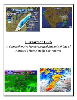 Meteorology: Blizzard Warning!  (SNOW FORECASTING FUN!  3 Ability Levels)