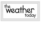 Weather Board Art