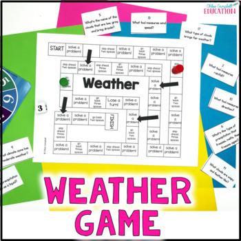 Weather Board Game - FREEBIE!!