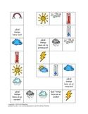 Weather Board Game in Spanish-¿Qué Tiempo Hace?