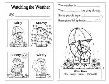 Weather Activities for Preschool