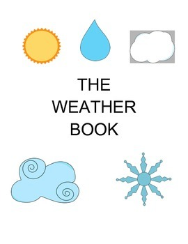 Weather Book - PRE-K/AUTISM