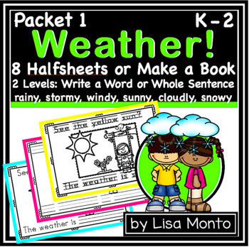 Weather Book (by Lisa Monto)