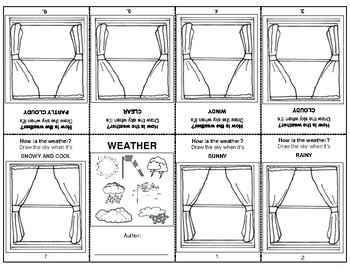 Weather Booklet