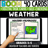 Weather Boom Cards | Distance Learning
