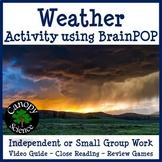 Weather Activity using BrainPOP