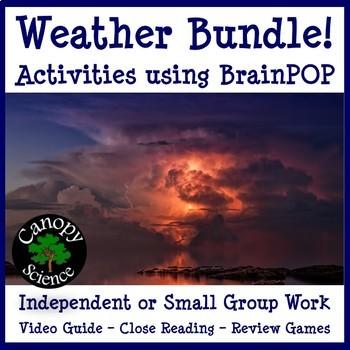 Weather Bundle! Activities using BrainPOP