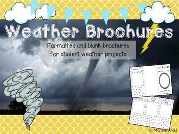 Weather Brochures