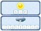 Weather Build - a - Word Spelling & Vocabulary Game