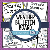 Weather Interactive Bulletin Board Set