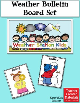 Weather Bulletin Board Set by Karen's Kids (Digital Download)