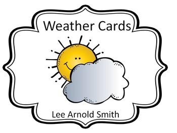 Weather Bulletin Cards