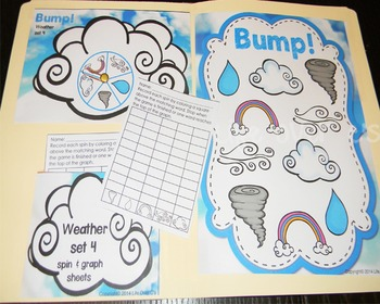 Weather Bump! Games for weather words