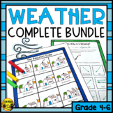 Weather Lessons and Activities Bundle