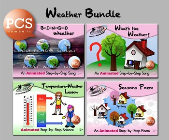 Weather Bundle - Animated Step-by-Steps - PCS