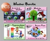 Weather Bundle 1 - Animated Step-by-Steps® - PCS
