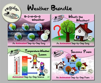 Weather Bundle 1 - Animated Step-by-Steps® - Regular