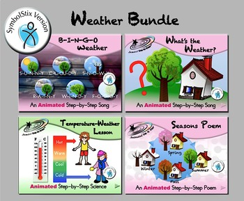 Weather Bundle - Animated Step-by-Steps - SymbolStix
