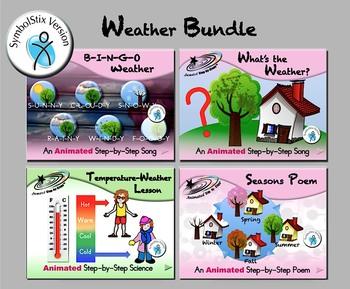 Weather Bundle 1 - Animated Step-by-Steps - SymbolStix