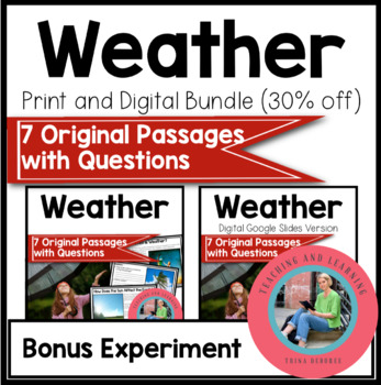 Bundle Weather {Digital and Print and Go}