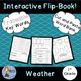 Weather Bundle: Flip Book and Pocket Chart Sentence Builders