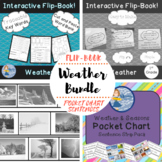 Weather Bundle: Flip-Book and Pocket Chart Sentences